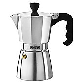 La Cafetiere Polished Classic Espresso Maker, 6 Cup