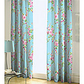 Catherine Lansfield Canterbury 66x72 Curtains 168x183cm Multi