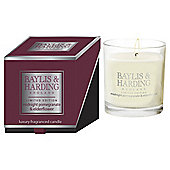 Baylis & Harding Boxed Candle, Midnight Pomegranate & Elderflower