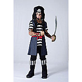 Tattoo Pirate Boy - Child Costume 5-7 years