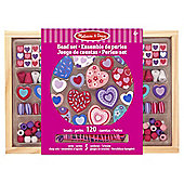 Melissa & Doug Bead Sets Sweet Hearts