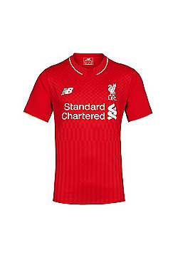 New Balance Liverpool FC Youth Home Jersey 15/16 - Red