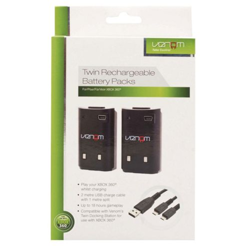 Twin Rechargeable Battery Pack (Xbox 360)