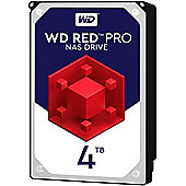 WD 4TB Red Pro 128MB 3.5IN SATA 6GB/S NAS Hard Drive
