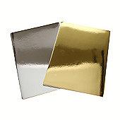 Anitas A4 Mirri Board 20 Pack Silver/Gold 250Gsm