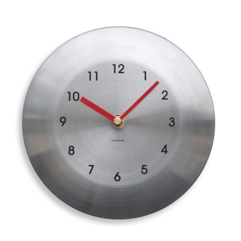 buy round stainless steel garden wall clock from our. Black Bedroom Furniture Sets. Home Design Ideas