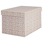 Bloom Garden Flowers Large Rectangular Gift Box