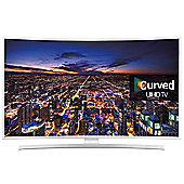 Samsung 40 JU6510 6 Series Curved UHD 4K Smart LED TV Experience the perfect Curved UHD entertainment with 1100 PQI UE40JU6510UXXU