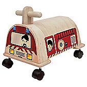Plan Wood Fire Engine Ride On