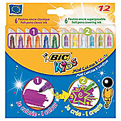 BIC Mini COLOUR AND CREATE 12