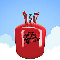 """Helium Gas Canister - (Inflates 30 x 9"""" Balloons)"""