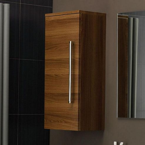 buy hudson reed grove bathroom side cabinet 800mm high x