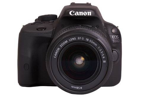 Canon EOS 100D SLR Camera Black EF-S 18-55mm III DC 18MP 3.0Touch LCD FHD