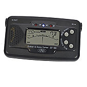 EXE Guitar and Bass Auto Tuner - Black