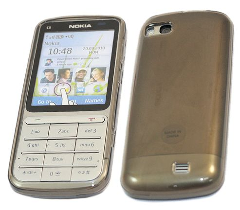 iTALKonline 21132 ProGel Skin Case Black - For  Nokia C3-01