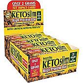 Natures Plus Keto Slim High Protein Bar Box 12 Bars