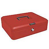Sterling Red Metal Cash box - Extra Large