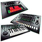 Roland Aira Pack 4 Includes - TB-3 Touch Bassline, TR-8 Rhythm Performer, System-1 Synthesiser