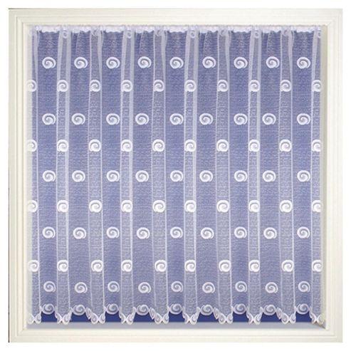 Tyrone Buxton Net Curtain W300xL114cm (118x44