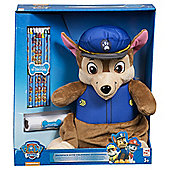 Character Paw Patrol 'Chase' Plush WIth Crayons Backpack