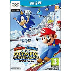 Mario & Sonic Winter Olympics 2014 (WiiU)