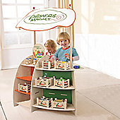 Everearth Natural Wooden Organic Farm Shop Role Play