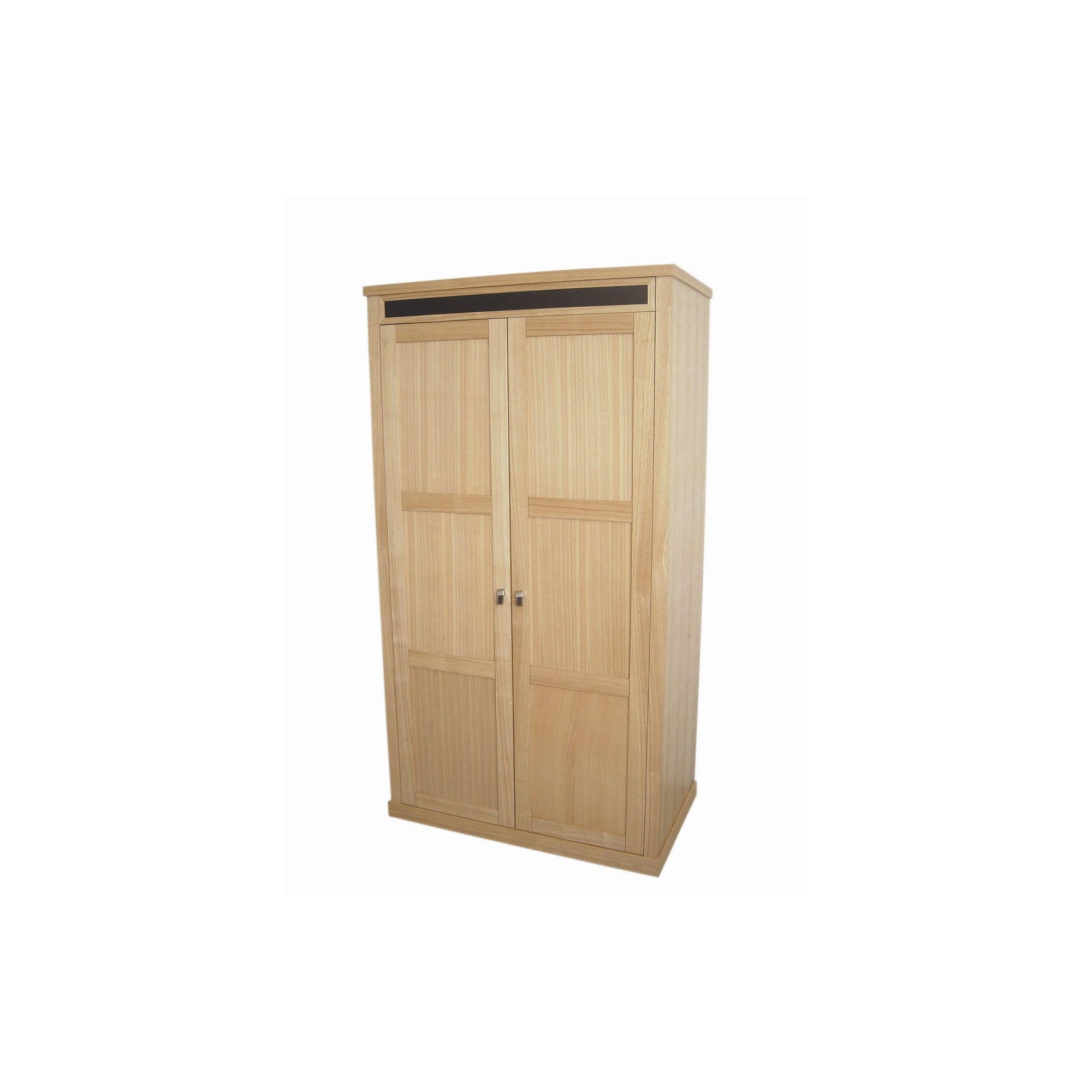 Home Zone Chelsea Two Door Wardrobe in Oak at Tesco Direct