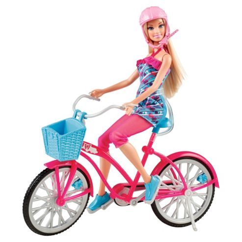 Barbie Doll And Bike
