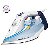 Philips GC4910/10 Perfectcare Ceramic Plate Steam Iron - Blue & White