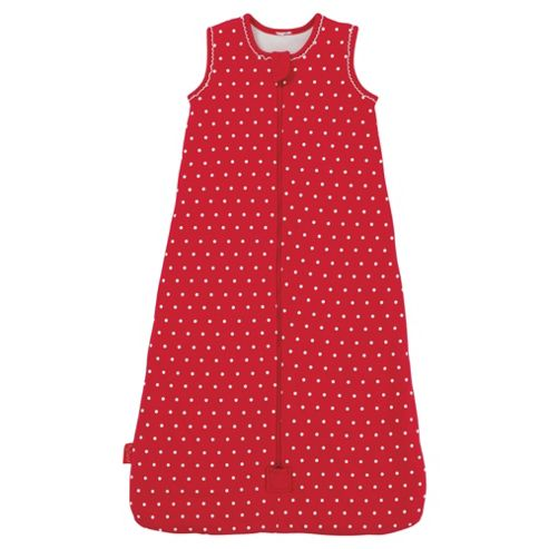 By Carla Raspberry Bloom 1 tog Sleeping bag, 6-18 Months
