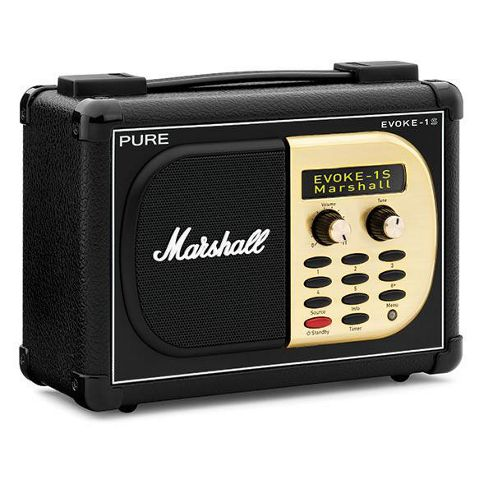 Portable Digital & FM Radio in Unique Marshall Styling