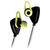 Kitsound Trail Wireless Sports In-Ear Headphones, Green