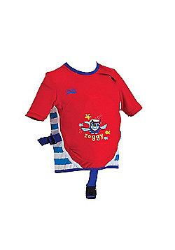 Zoggs Inflatable Swimfree Swim Jacket 4-5 Years - Red