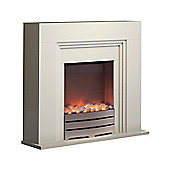 WL45023 Warmlite Bluetooth Fireplace Suite Ivory