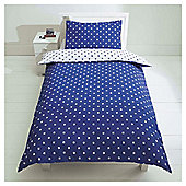 Kids Star Print Duvet Set Single