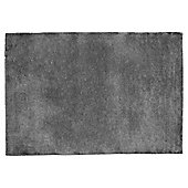Tesco Plain Wool Rug 160 x 230cm, Charcoal