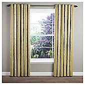 Sierra Lined Eyelet Curtains - Green