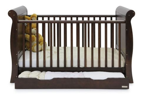 Babystyle Hollie Sleigh Bed in Walnut