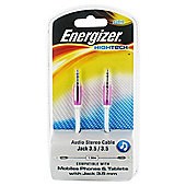 Energizer High Tech - 3.5mm Audio Jack Cable Pink
