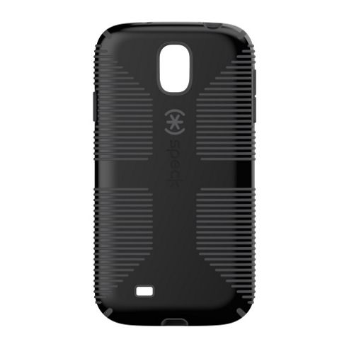 Speck CandyShell Grip Case for Samsung Galaxy S4 - Black/Slate Grey