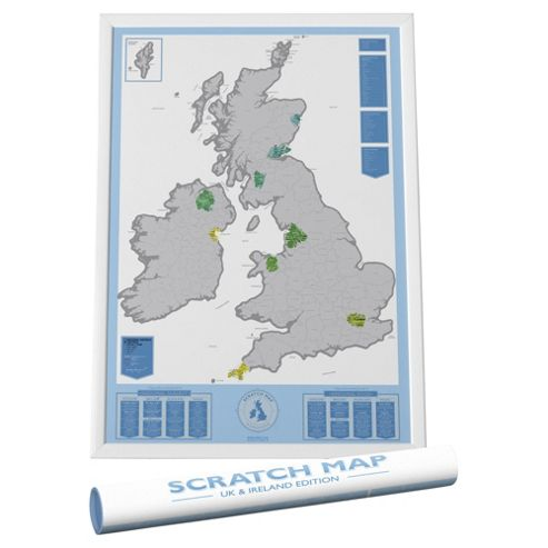 Scratch Map Uk Edition