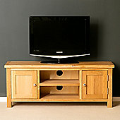 London Oak 120cm TV Stand - Light Oak