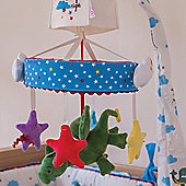 Pink Lining Musical Cot Mobile (One Starry Night)