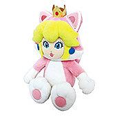 "Official Nintendo Super Mario Plush Series Stuffed Toy - 9"" Cat Peach"