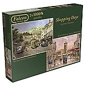 Shopping Days - 2 x 1000 Puzzle
