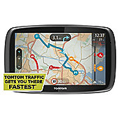 "TomTom Go 600 Sat Nav 6"" Screen with UK and Ireland Maps"