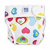 Bambino Mio Miosoft Nappy Cover - Extra Large (Hearts)