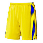 2014-15 Chelsea Adidas Away Shorts (Kids) - Yellow