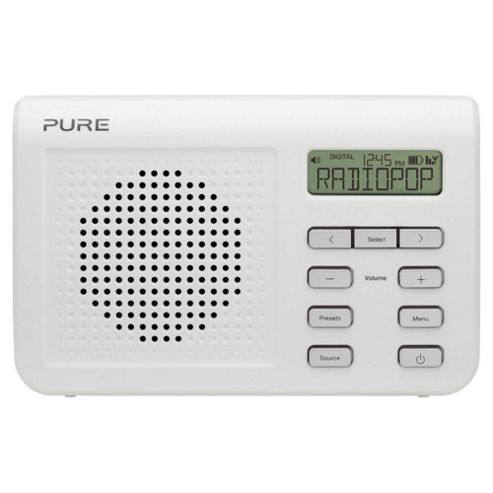 Pure One Mi S2 DAB/FM Radio White