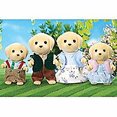 Sylvanian Family Golden Labrador Family